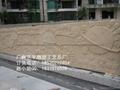 人造砂岩镂空浮雕壁画 5
