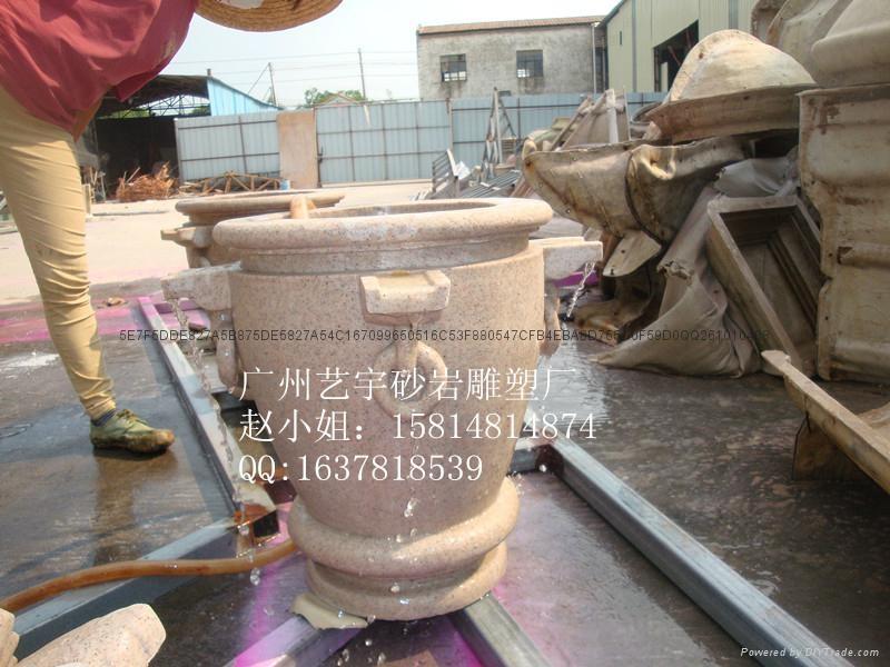 人造黃鏽石花盆 5