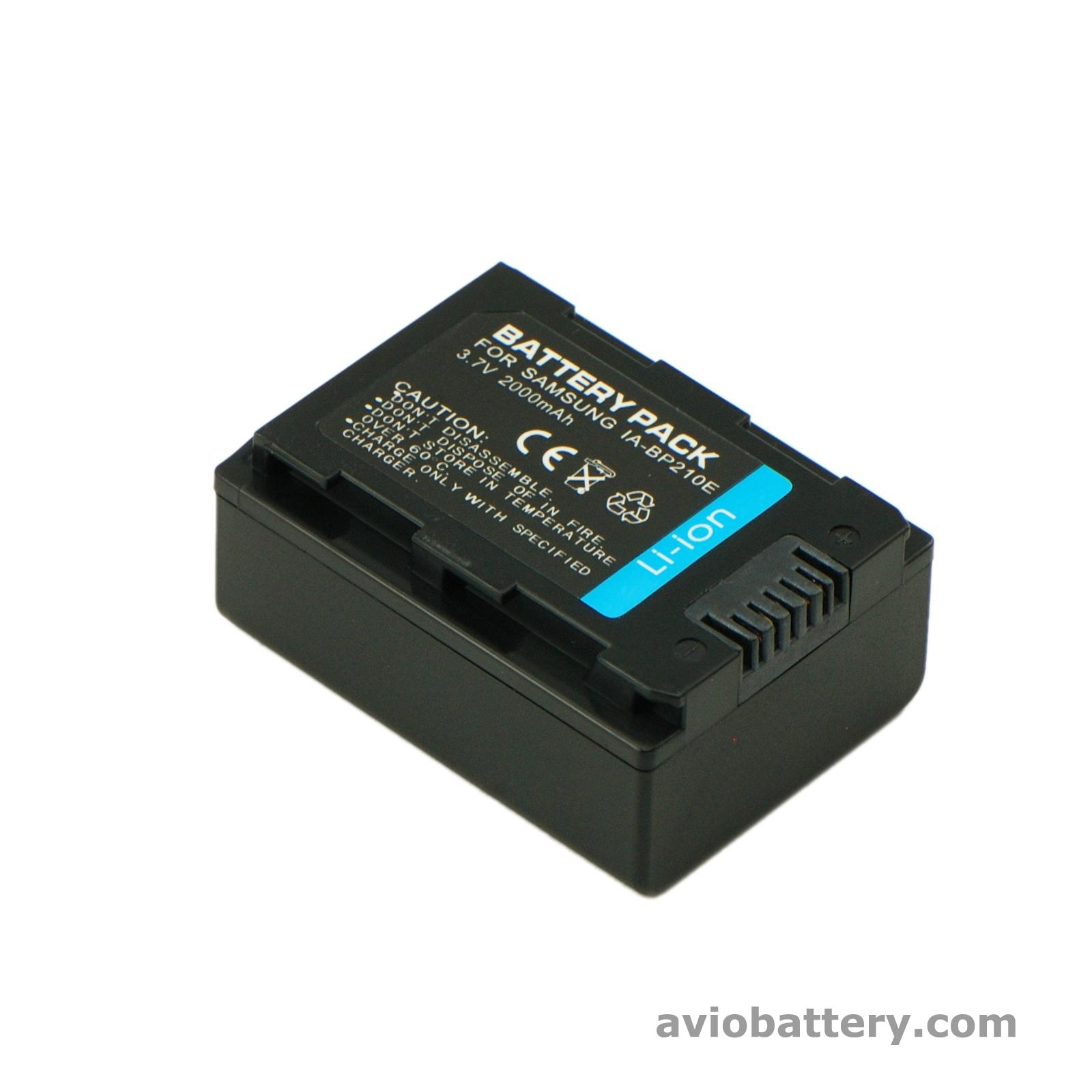 Camcorder Battery Ia Bp210e For Samsung H200 Samsung