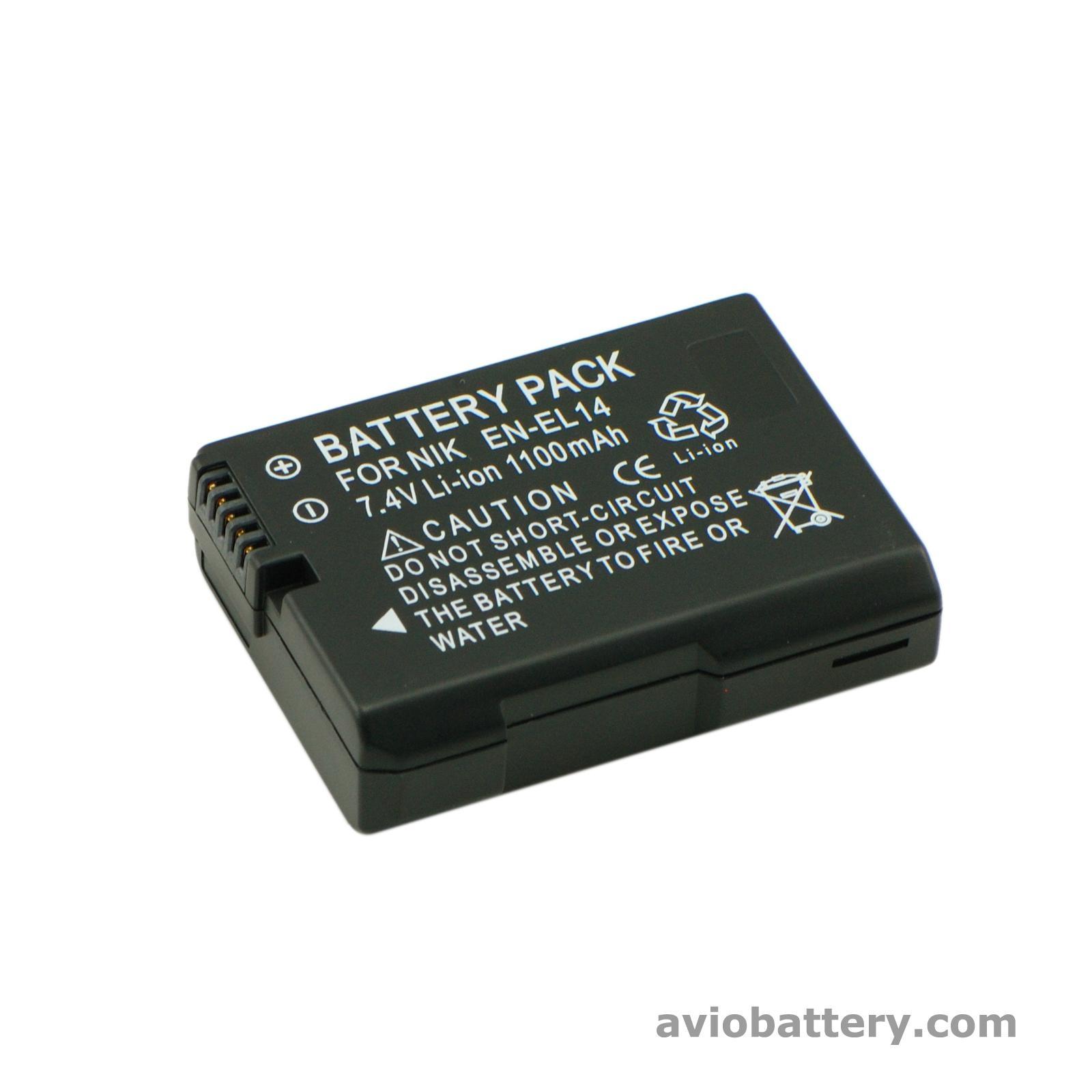 Camera Battery En El14 For Nikon D3300 D5500 P7800 Avio China Manufacturer Battery