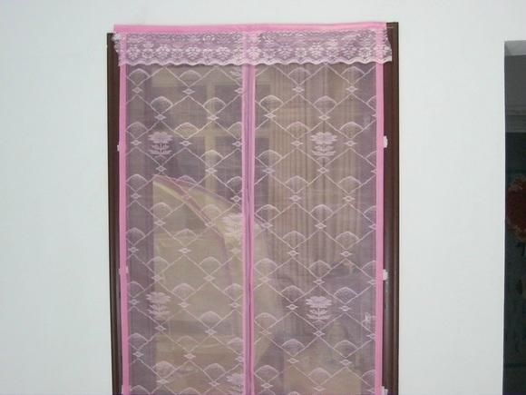 2011 new magnetic mesh curtain 3