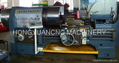 Drill pipe thread repair machine