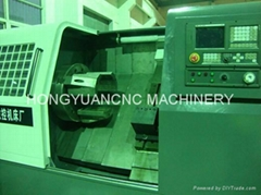 CNC pipe threading lathe