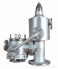 Pressure vacuum valve