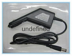 90W Car Charger for Dell Laptop 19.5V 4.62A