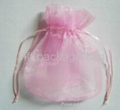 organza or satin bags