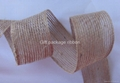natural jute ribbon   or  jute ribbon