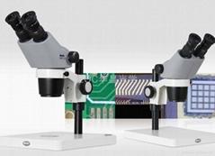 高清连续变倍双目体视显微镜