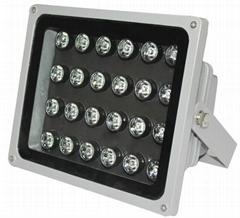 上海视频监控专用LED白光补光灯监控照明灯