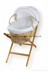 baby moses basket with d