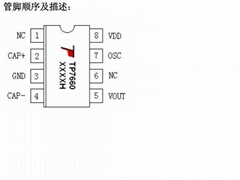 TP7660----电压反转IC