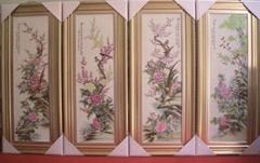 瓷板画供应选购加工定做订制