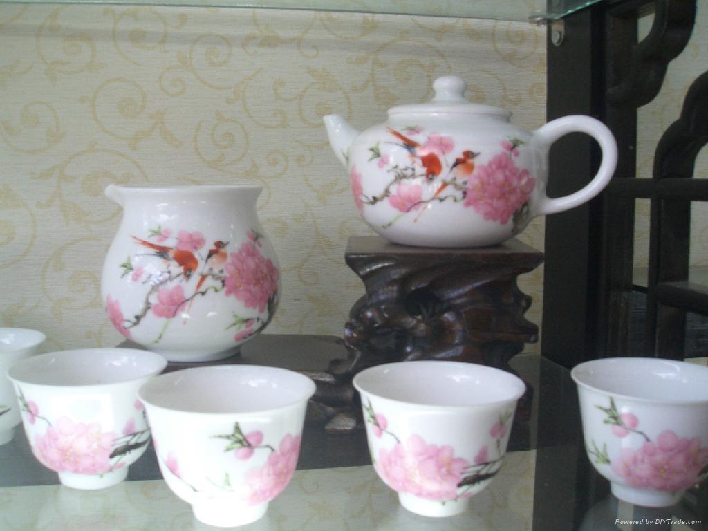 景德镇陶瓷茶具批量供应 1