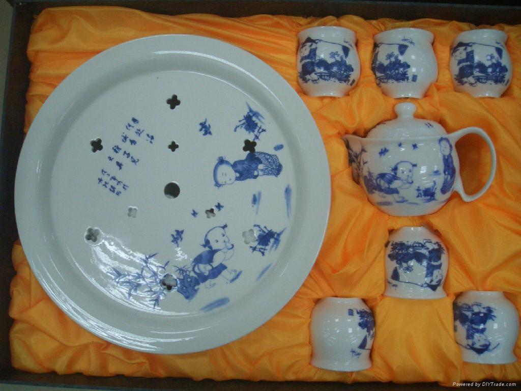 景德镇陶瓷茶具批量供应 2