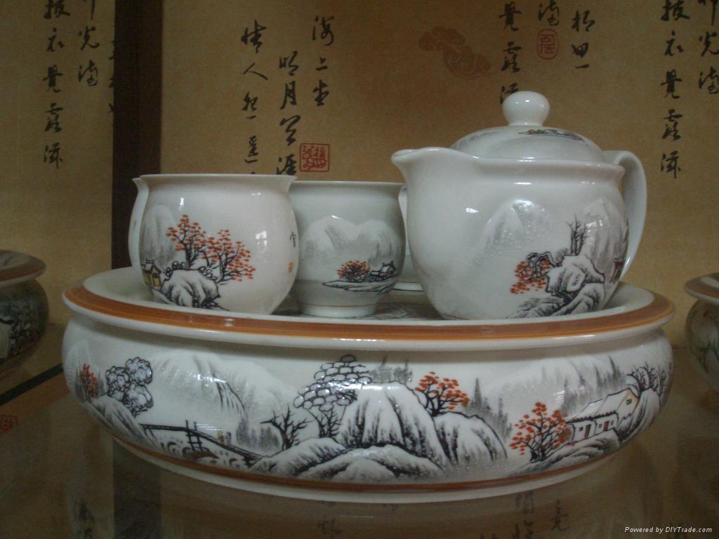 景德镇陶瓷茶具批量供应 3