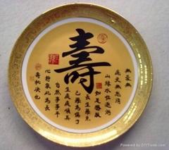 景德鎮定做訂製供應陶瓷學生畢業紀念盤