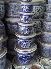 出售定做直銷景德鎮陶瓷花盆