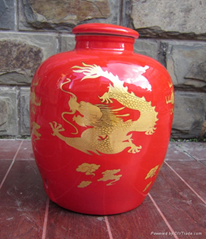 景德镇陶瓷酒坛图片