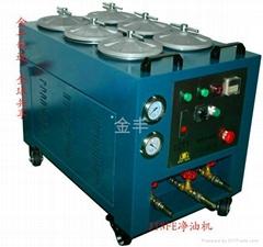 潤滑油超微淨油機(用於清除油壓機械液壓油所產生的污染物)