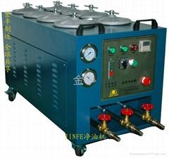 高精密移動式液壓油清洗過濾濾油機