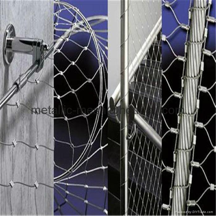 SS304不锈钢动物园围网 5