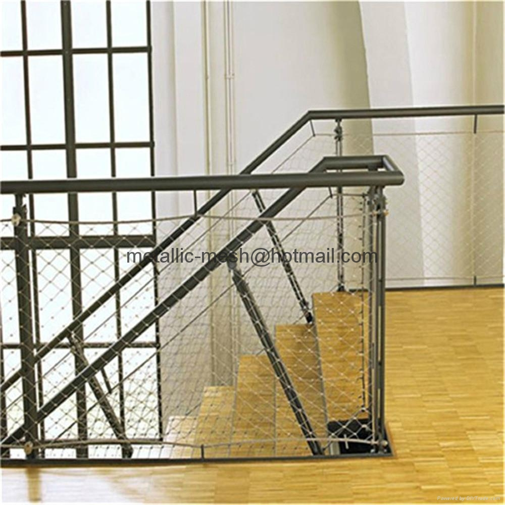 x tend stainless steel wire rope net yt1650 yuntong. Black Bedroom Furniture Sets. Home Design Ideas