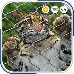 动物园专用钢丝绳围网