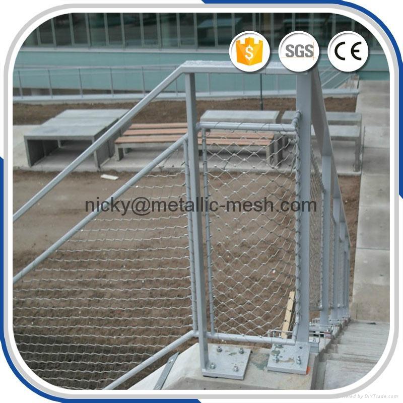 不锈钢钢丝绳网 5