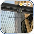 楼梯栏杆不锈钢丝绳编织网 3