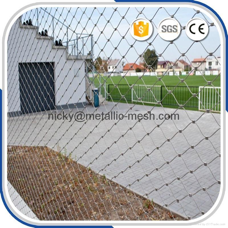 不鏽鋼鋼絲繩防護網 5