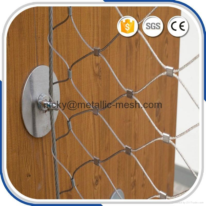 SS304不鏽鋼扣網 3