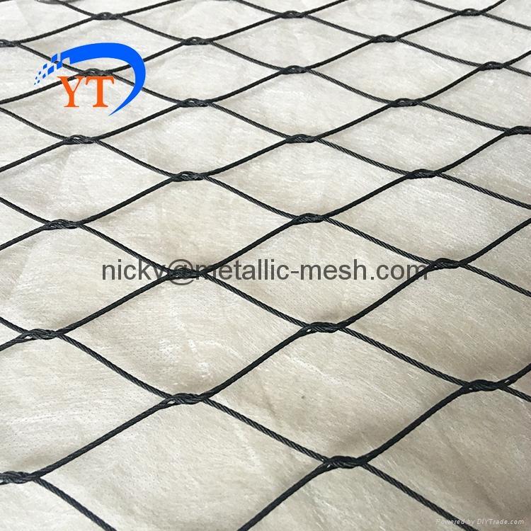 高弹性钢丝绳编织网 1