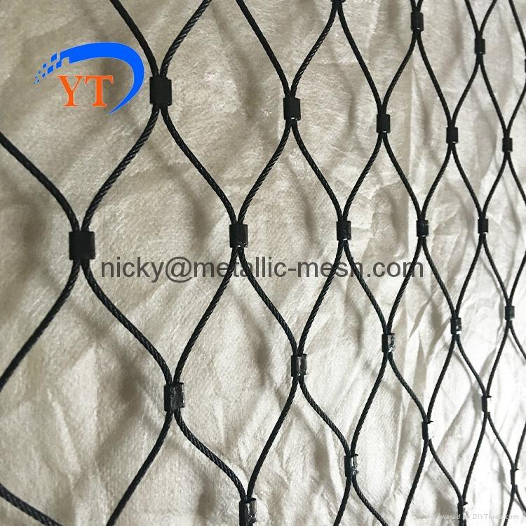 高弹性钢丝绳编织网 5
