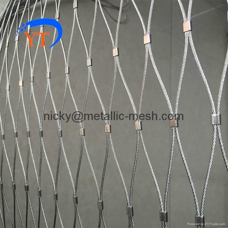 不鏽鋼絲繩編織網 1