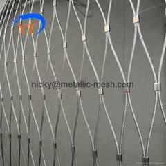 不鏽鋼絲繩編織網