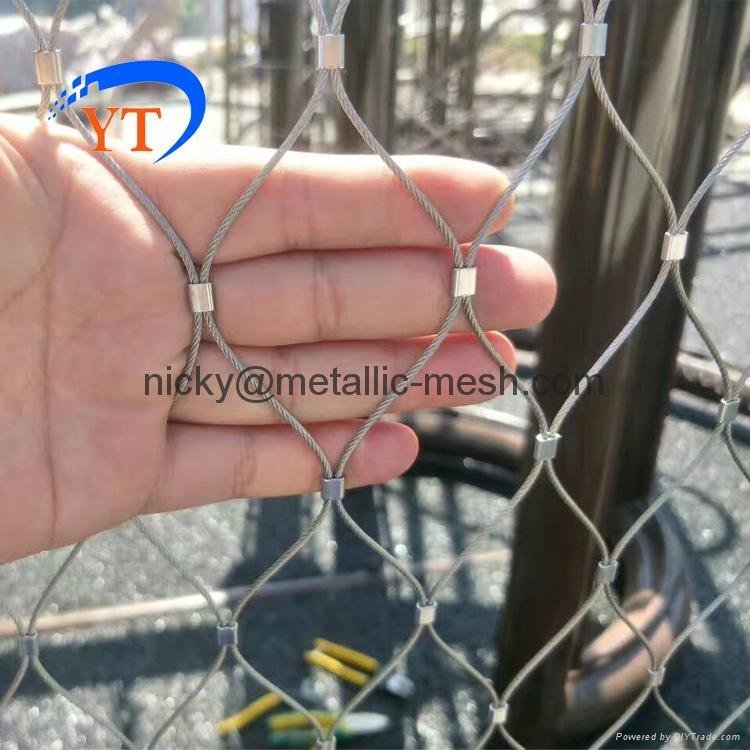 不锈钢丝绳编织网 2