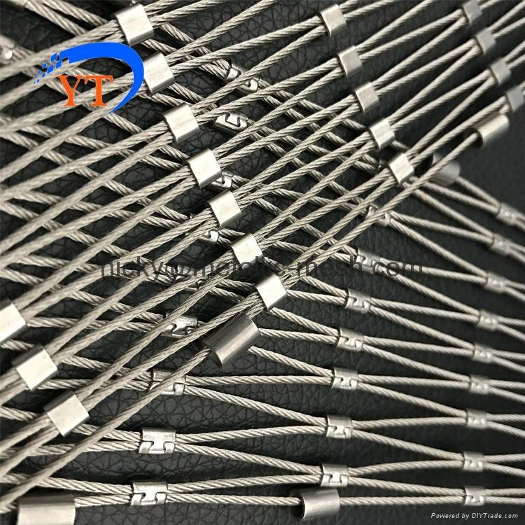 不鏽鋼絲繩編織網 3