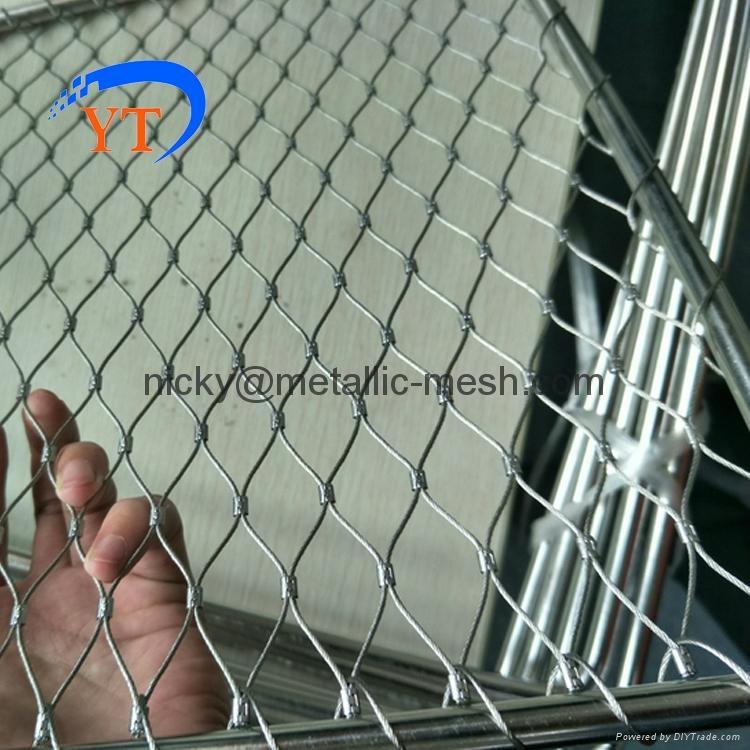 不锈钢丝绳编织网 4