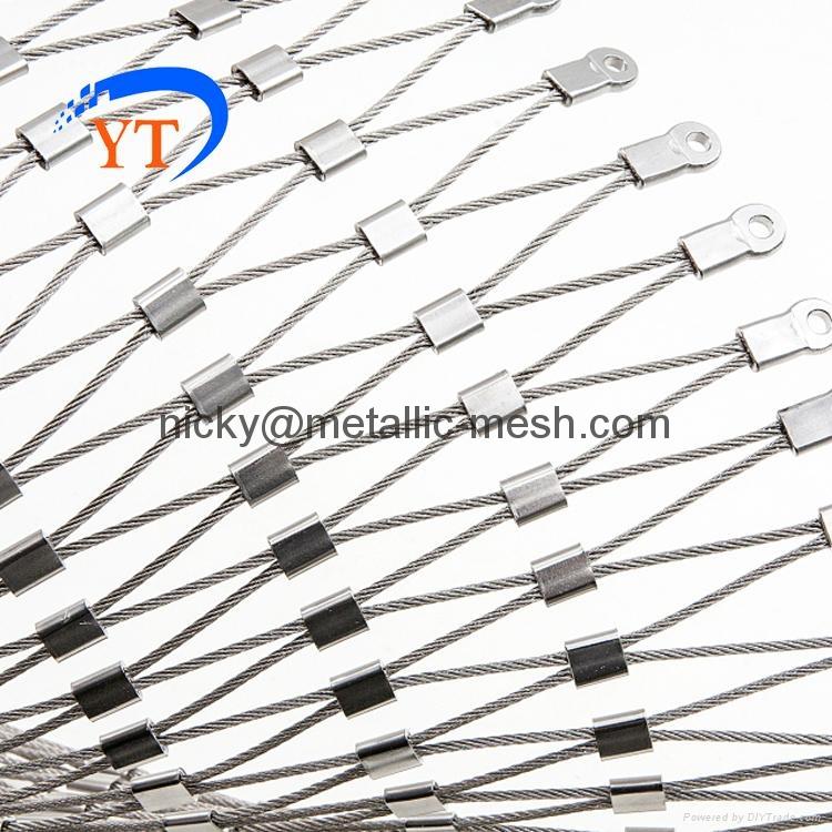不鏽鋼絲繩編織網 5