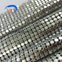 鋁制裝飾金縷布