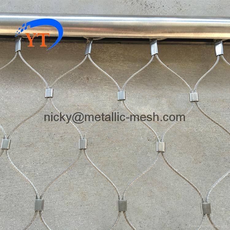 装饰防护钢丝绳编织网 3