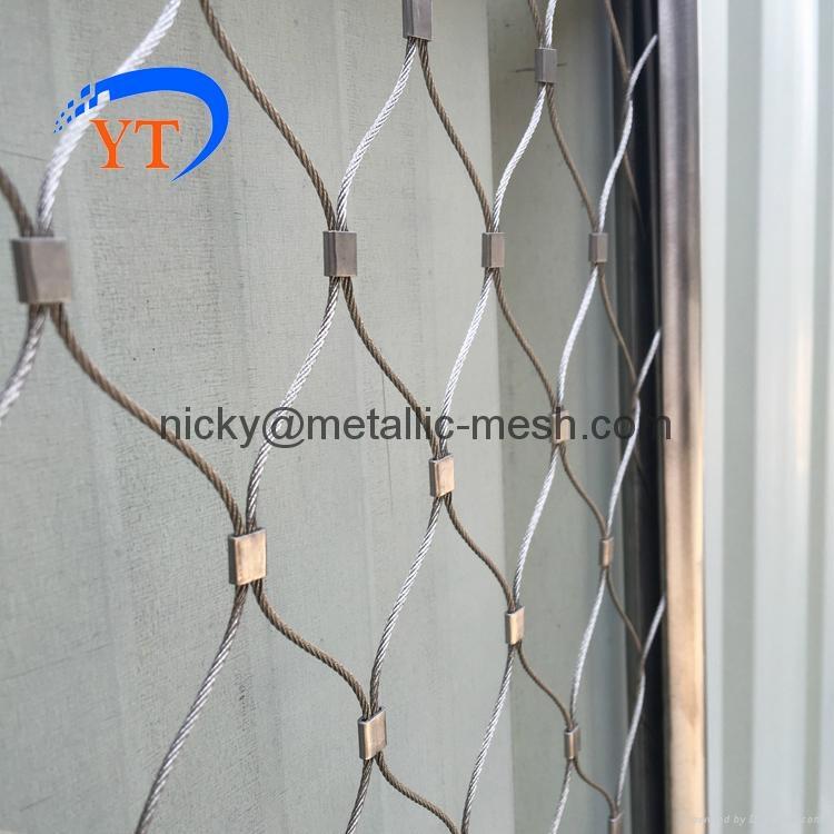 装饰防护钢丝绳编织网 4