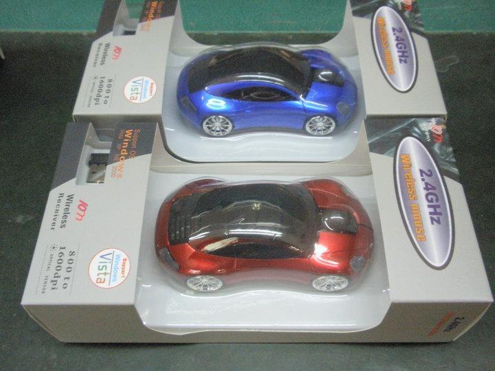 4S店礼品保时捷车型无线鼠标 1