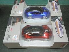 4S店礼品保时捷车型无线鼠标