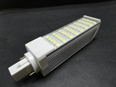 8W帶PC罩橫插燈