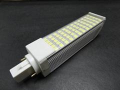 12W帶PC罩橫插燈