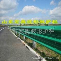 高速公路防撞护栏