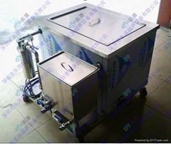 循环过滤油水分离超声波清洗机