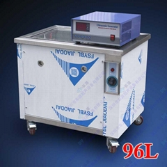 Ultrasonic cleaning machine for metal stamping parts degreasing
