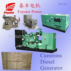 Sound proof diesel generator set use to Construction item and Mine Item.